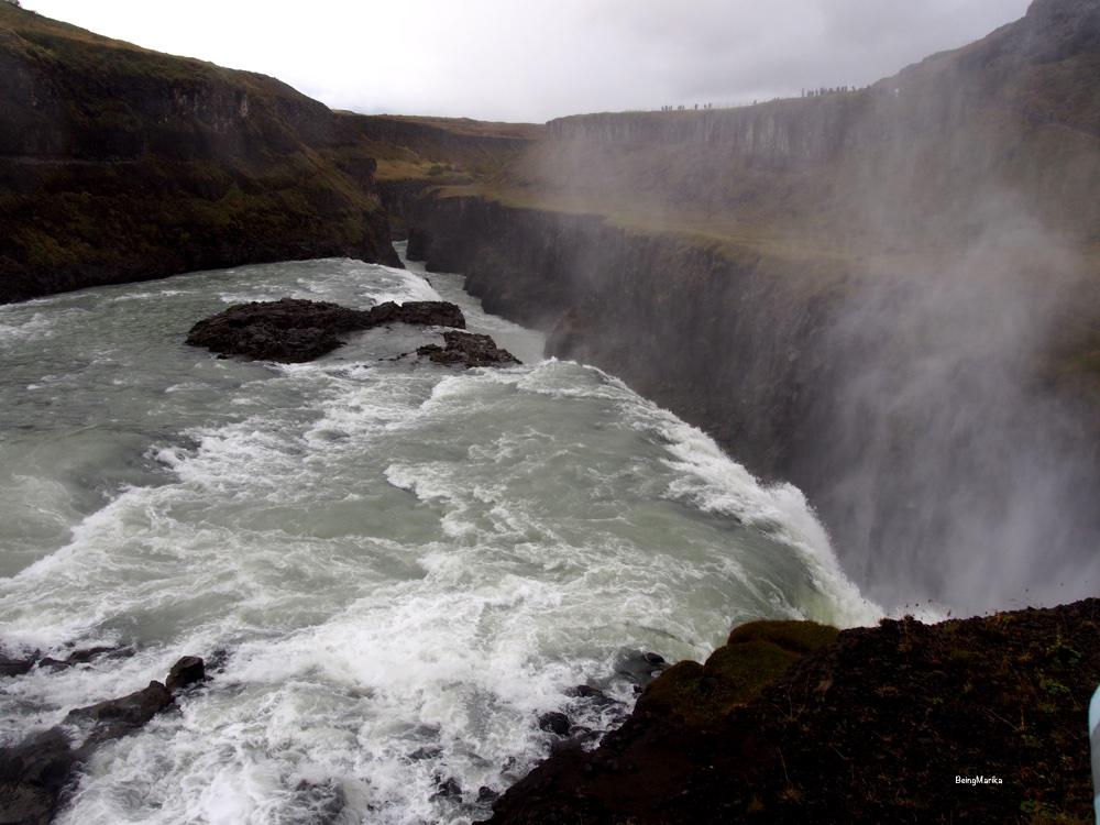 Gullfoss Islanti Kultainen kierros