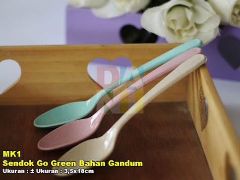 Sendok Go Green Bahan Gandum