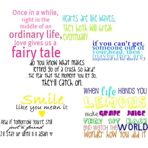 Image Quetes 13: Cute Quotes
