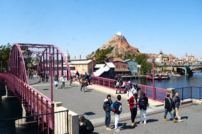 American Waterfront at Tokyo Disneysea Japan