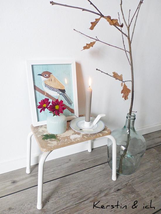 Deko Interiorstyling mit Kerzenhalter Holde Isolde
