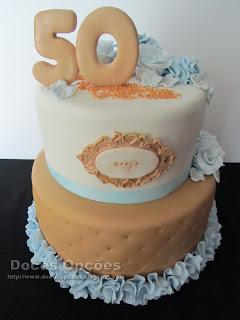 Bolo para o 50º aniversário da Graça