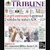 NAIJA NEWSPAPERS: TODAY'S THE TRIBUNE NEWSPAPER HEADLINES [27 OCTOBER, 2017].