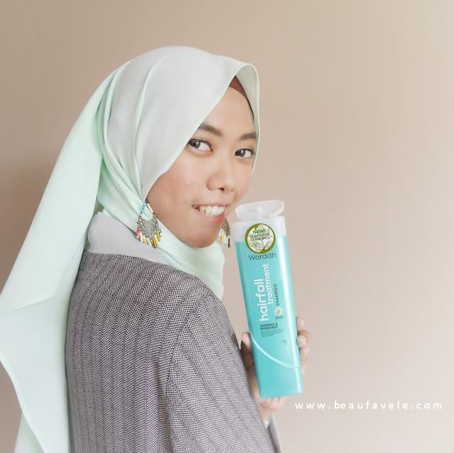 Wardah shampoo perawatan rambut rontok