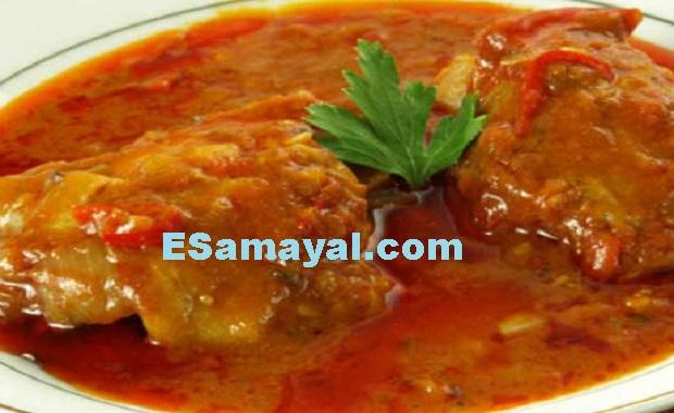 பாறை மீன் குழம்பு செய்முறை | Rock Fish Curry Recipe !