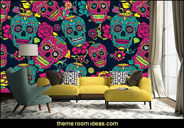 Decorating Theme Bedrooms Maries Manor Skull Decor