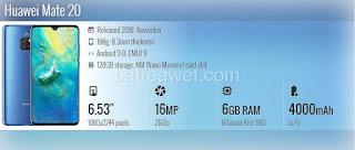6. Huawei Mate 20
