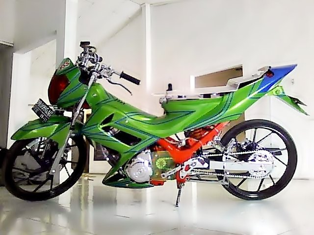 Modification Suzuki Satria Fu 150