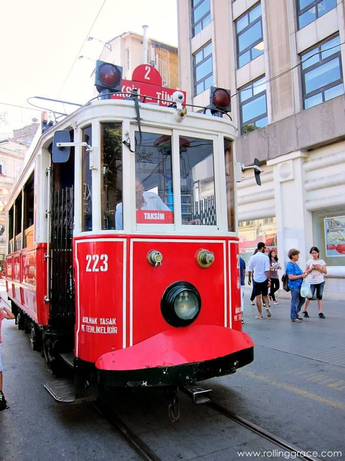 trams in istanbul turkey