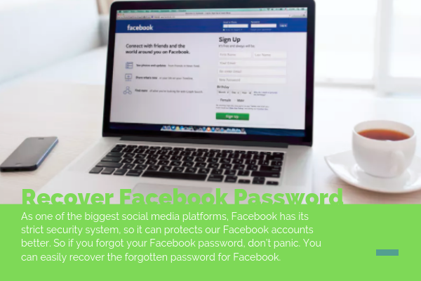 Password Recovery On Facebook<br/>