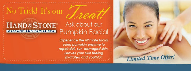 Hand and Stone Franchise: Our Pumpkin Facial is Here!