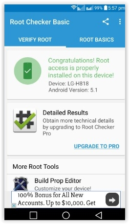 Flash Tool: How To Root Android LG G4 DUAL H818P / H818N Android