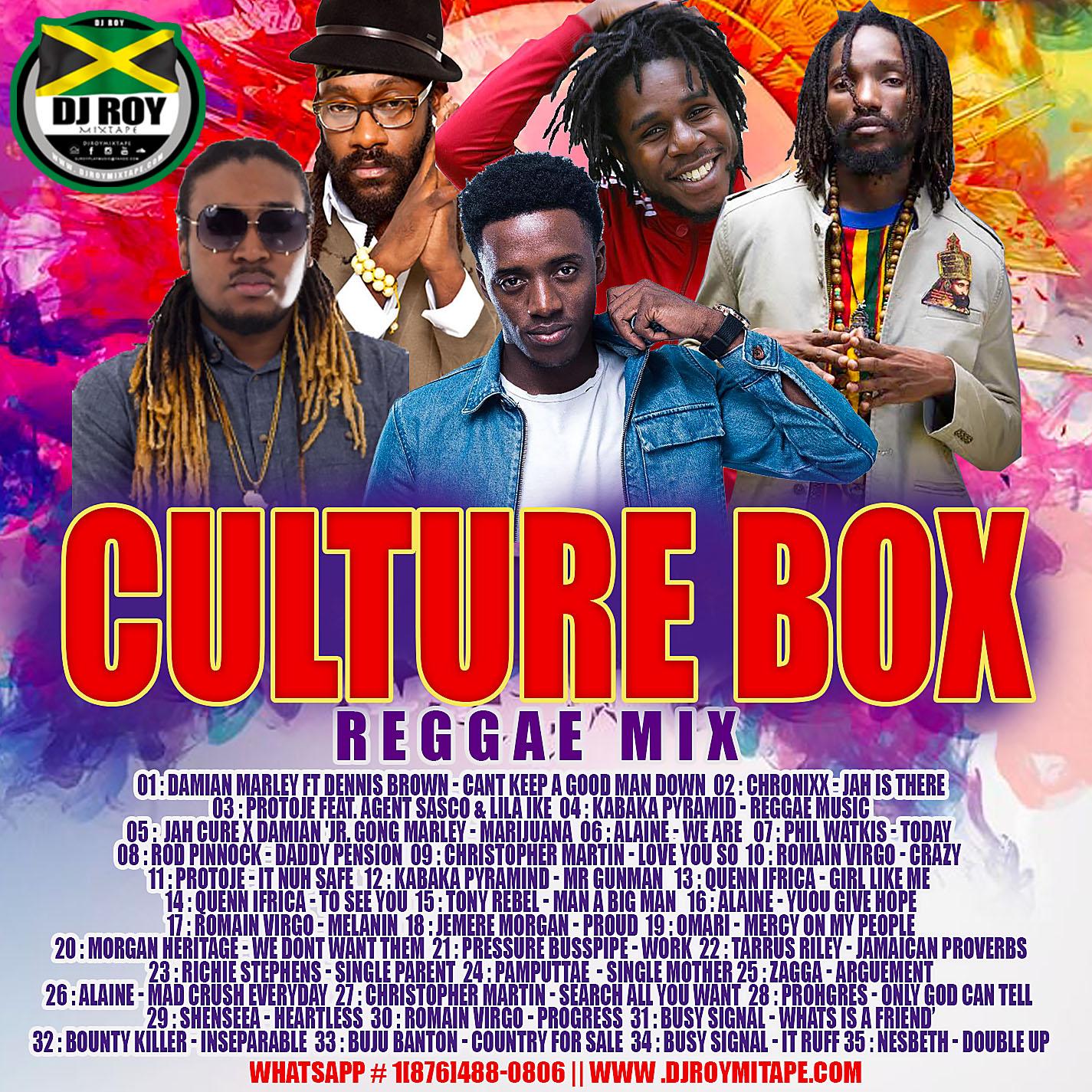 DJROYMIXTAPE : DJ ROY CULTURE BOX REGGAE MIX 2019