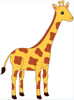Giraffe cartoon images