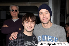 Christopher J. Hanke talks about his co-star Daniel Radcliffe