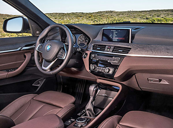 The Current X1 Interior Is Pictured Right Bellow It And As You Can See Looks Like BMW Didnt Bother Designing A New For
