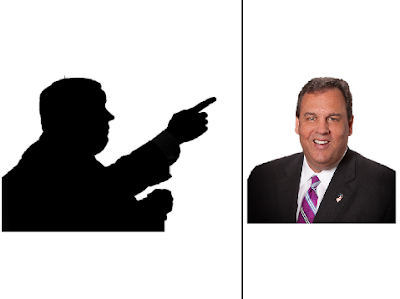 The Wonderful 1237 Chris Christie shadow black silhouette