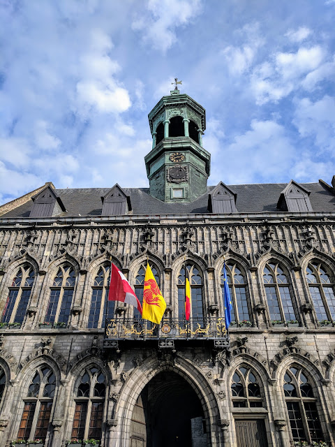 What to do in Mons Belgium: Check out the Mons Town Hall