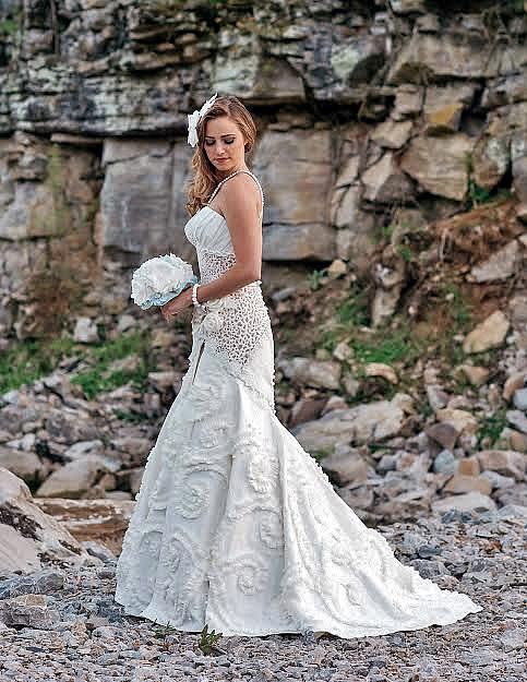 Donna Vincler Toilet Paper Bridal Gown