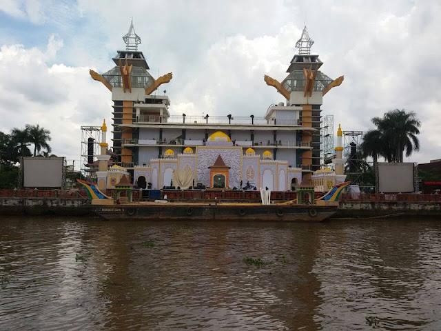 MTQ Kalsel Ke 30 Tahun 2017, Akan Digelar di Atas Sungai Martapura