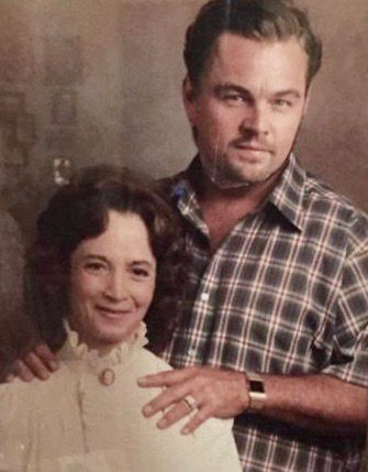 1 Grandma Put A Magazine Cut Out Of Leonardo DiCaprio Over Her Late (Not So Nice) Husband's Face. Your Own Damn Way MarchMatron.com
