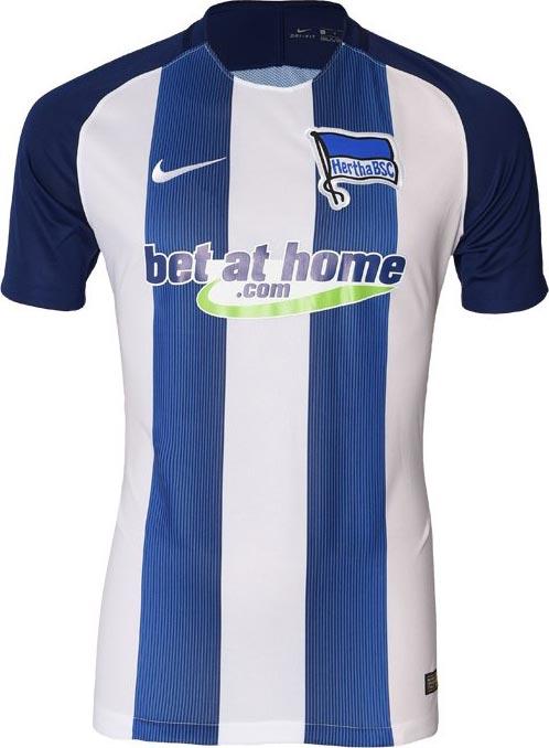 Hertha Bsc 16 17 Home And Away Kits Released Footy Headlines