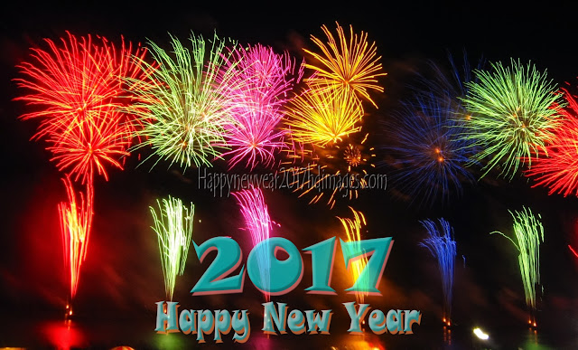 Happy New Year 2017 HD Pictures With Firework Download Free - Happy New Year 2017 Beautiful  Firework Pictures Download Free
