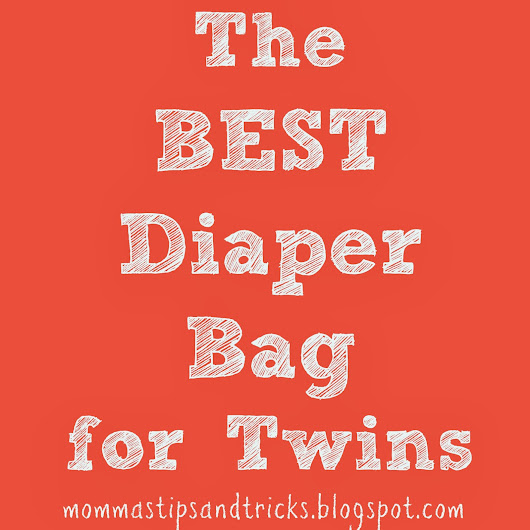 The Best Diaper Bag for Twins