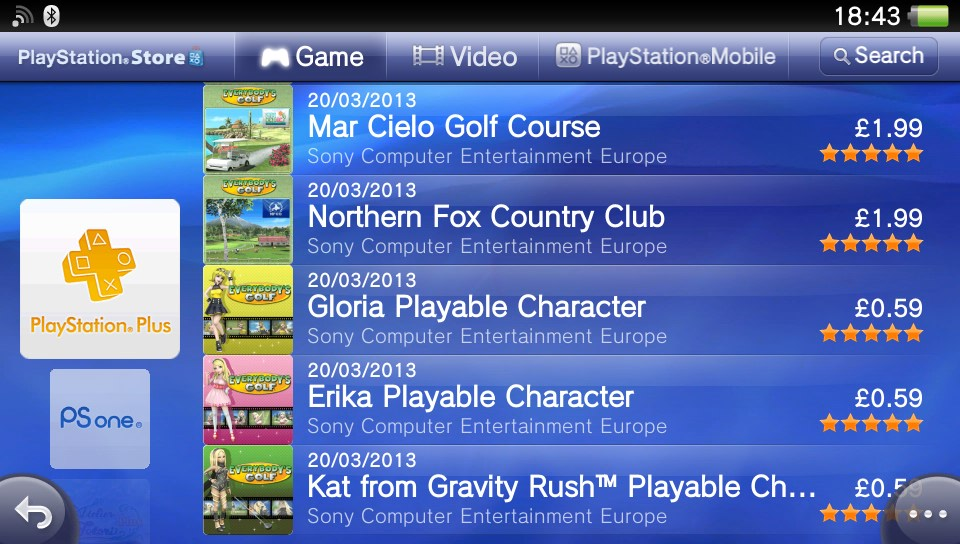 PS Vita Roundup: Hot Shots Golf gets a rising shot of DLC