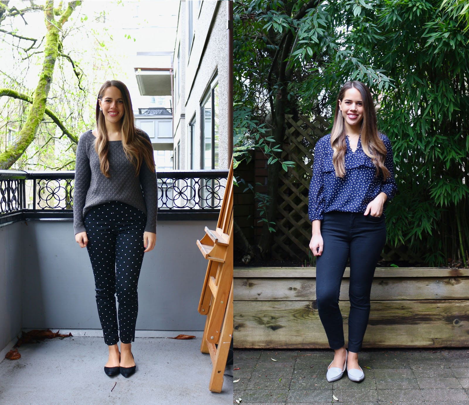 Jules in Flats - April Outfits (Business Casual Workwear on a Budget)