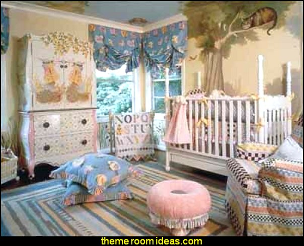 Alice In Wonderland Baby Nursery Decorating Ideas Theme