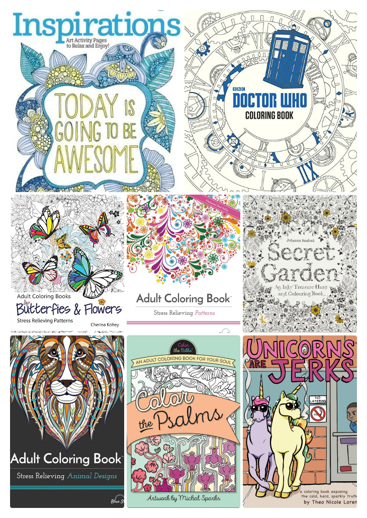 Adult Coloring Books Relax And Get Creative Everything