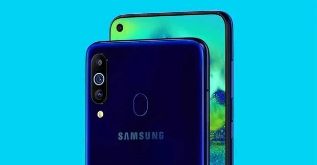 Samsung Galaxy M40 Kamera