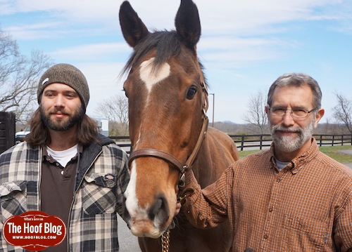 Luke and Paul Goodness, Virginia Tech farriers, Leesburg division