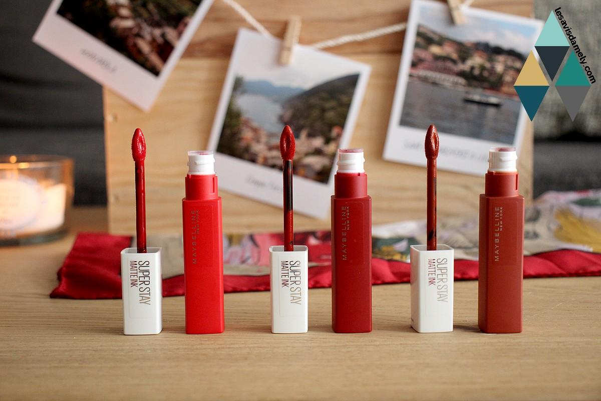 revue makeup encre à lèvres matte ink maybelline