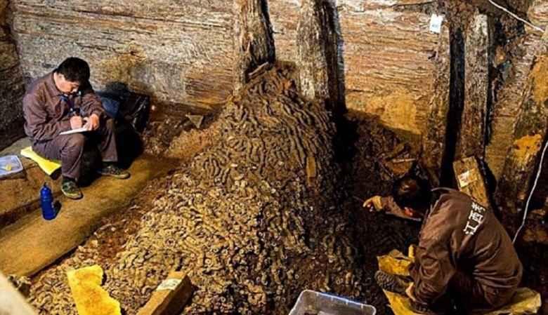 Koin Emas Berusia Ratusan Tahun di Temukan di Tiongkok