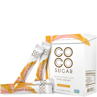coco sugar sachet