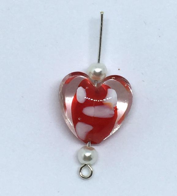 Keep Calm and Craft On: DIY Valentine Heart Earrings Tutorial