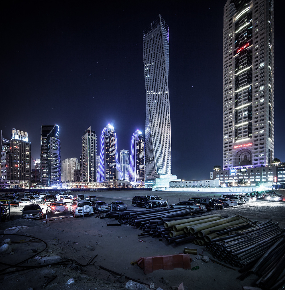 Tallest Block by Night