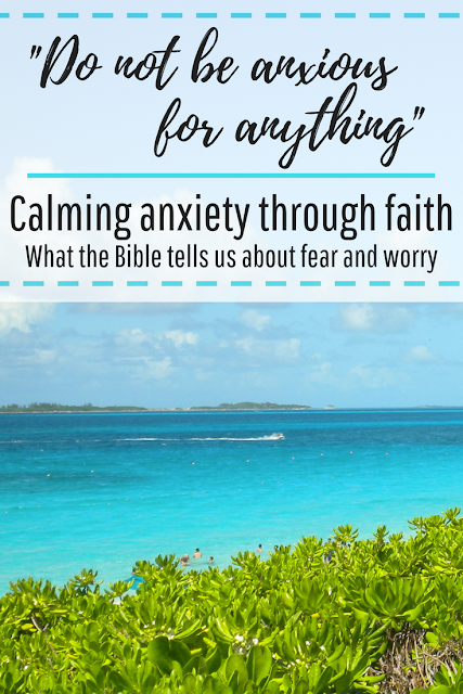 Calming and managing anxiety through faith. What the Bible tells us about fear and worry. How to find biblical peace. Bible verses for managing anxiety and stress