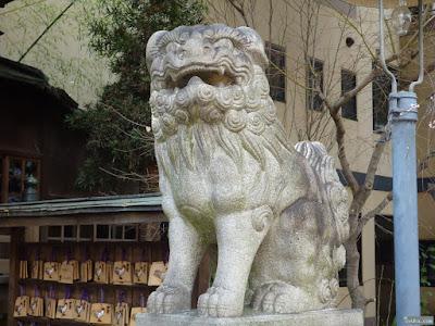 海老江八坂神社狛犬