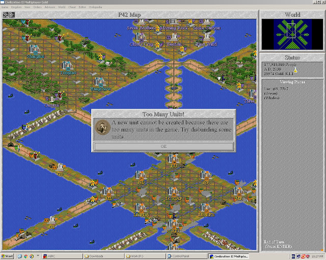 Today We Play: Civilization 2 Gold Limits