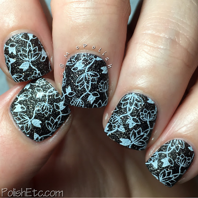 Black and White Nails for the #31DC2016Weekly - McPolish
