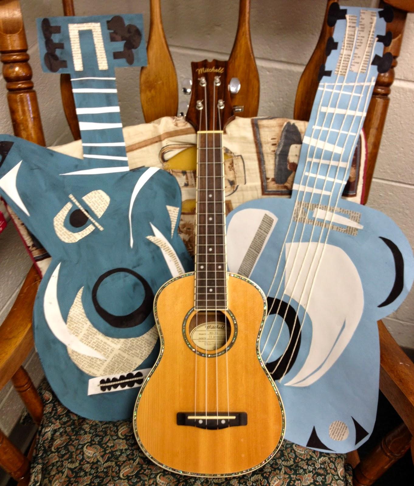 Ms Pfeifer 5th Grade Picasso Blue Period Guitars
