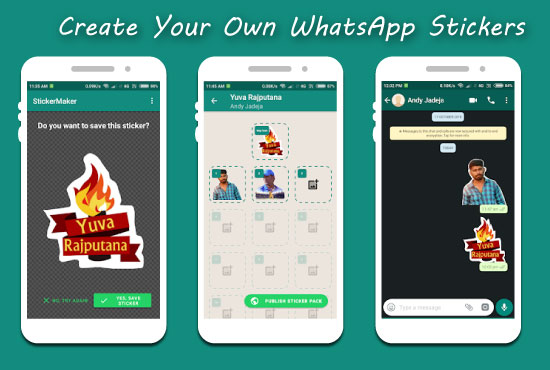 WhatsApp sticker kaise banaye android ke liye