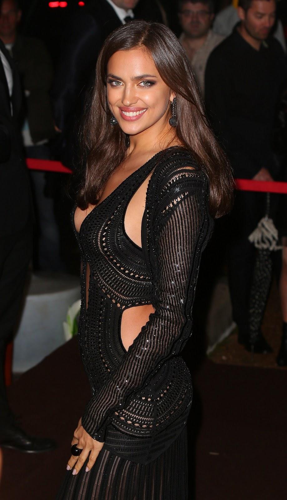Irina Shayk Looking Hot in black - HD Group Sex