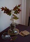 Dziś na moim stole... namiastka jesieni