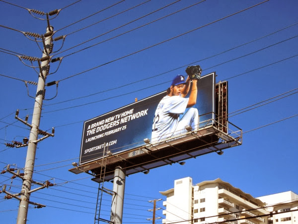 Dodgers Network billboard