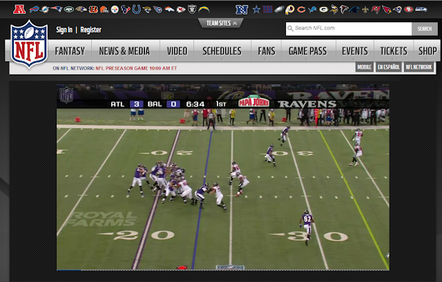 Torrey Smith 77 Yard TD Screenshot