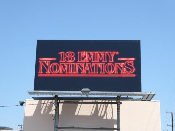 18 Emmy Nominations Stranger Things billboard